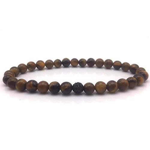 Armband Armreif,Schmuck Geschenk,Fashion New Beaded Men Bracelets Fashion Classic Stone Bead Charm Bracelet for Men Fahion Jewelry Gift (Brighton Schmuck-box)