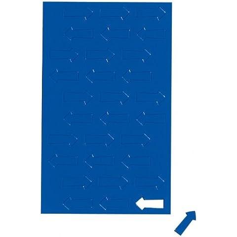 30x coloridos Flecha magnético símbolos, Nota, magnético para pizarras de planificación, Whiteboard–En 4Colores: Rojo, Azul, Amarillo o verde, color