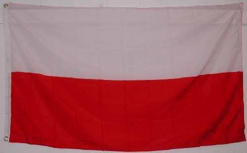 3x5 Poland Flag Polish Banner Country Polska Pennant 3x5 Foot FT