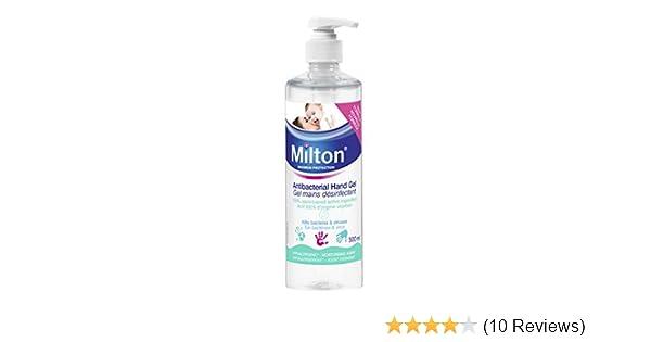 Milton Antibacterial Hand Gel 500 Ml Amazon Co Uk Health