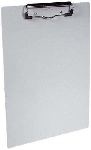 Saunders 21518 Aluminum Klemmbrett für DIN A4, extra starke und flache Klemme, stabile...