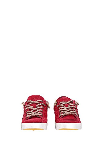 2S887ROSSO 2Star Sneakers Femme Chamois Rouge Rouge
