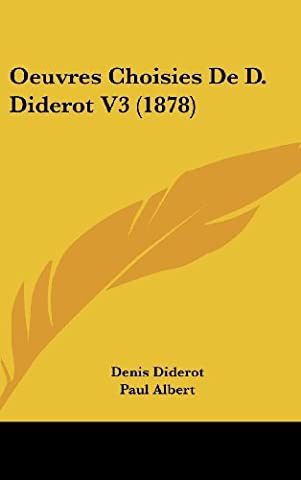 Oeuvres Choisies De D. Diderot
