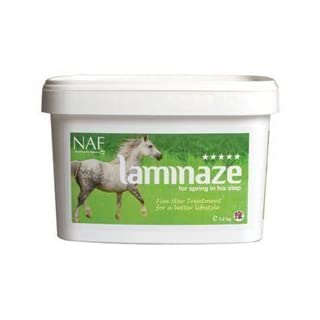 Natural Animal Feeds Unisex's NAF Five Star Laminaze 3kg, Clear, 3 kg