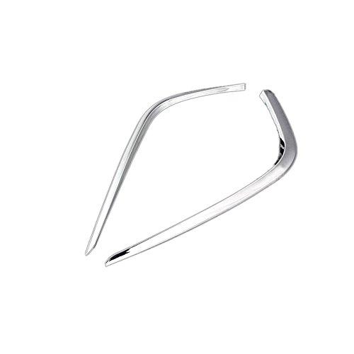 ABS Chrom Nebelscheinwerfer Lampe Augenlid Verkleidung 2 Für Mazda6 2013 2014 2015 2016 (Lampe Mazda 6)
