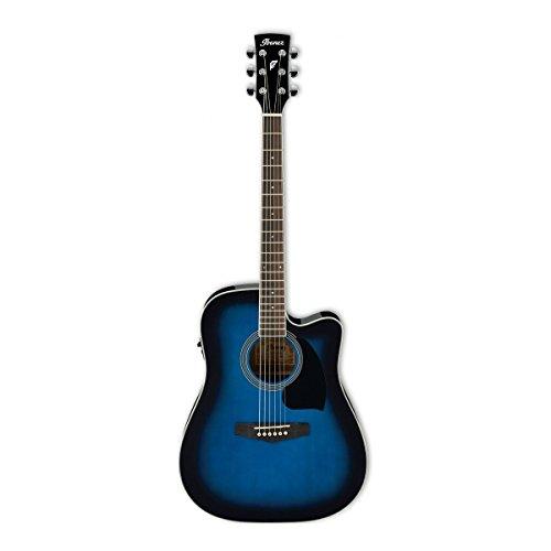 Ibanez PF15ECE-TBS | Westerngitarre | Akustikgitarre | PF-15E-CE-TBS | Blau
