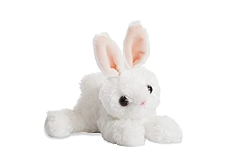 Aurora World Mini Flopsie Bunny Plush Toy (White)