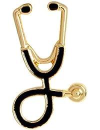 JinZhiCheng Broche de Estetoscopio para Médicos