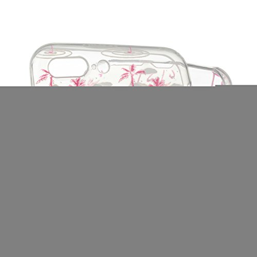 iPhone 7 Plus Silikon Hülle,iPhone 7 Plus Case,iPhone 7 Plus Schutz - Felfy Ultra Dünnen Weiche Gel Elegant TPU Back Case Cover Schutz Zurück Handy Tasche Etui Hülle Schutzhülle Crystal Clear TPU Case Flamingos