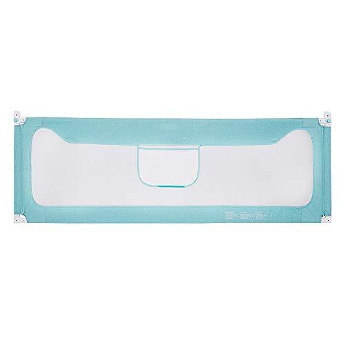 Bettgitter HUO Kids Kinderbett Safety 1st Tragbares Verhindert Das Herausfallen Leicht Tragbar Mit (Farbe : Blau, größe : 150cm)