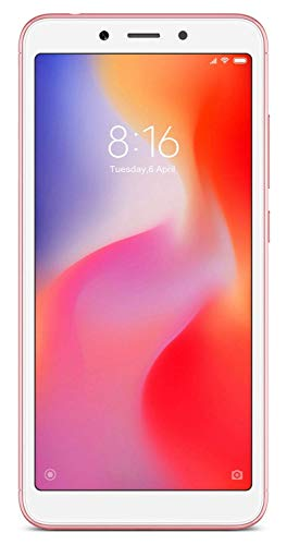 Mi Redmi 6A (Rose Gold, 2GB RAM, 16GB Storage)