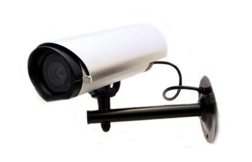Überwachungskamera Dummy Kamera Fake Attrape Cam Outdoor Außen