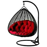 Shri Sai Outdoor Furniture Double Seater Hanging Swing