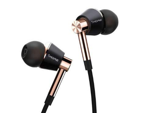 1MORE - E1001-GOLD - Triple Driver In Ear Headphones