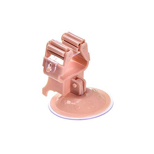 Webla - Küchenwerkzeugablage Aufhängung Aufhängung Besen Schirmhalter Bürstenmop, PP + PVC (7 x 7 cm) (Rosa) (PK) (Garage Sport Veranstalter)