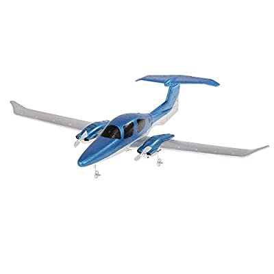 Goolsky GD006 DA62 2.4G 2CH Remote Control Diamond Aircraft RC Airplane 550mm Wingspan Foam Hand Throwing Glider Drone DIY Kit for Kids Beginners