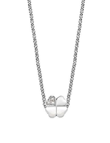 Morellato, ciondoli da donna a goccia, acciaio inossidabile, cristallo bianco, scz669