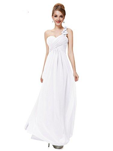 Vimans - Robe - Trapèze - Femme Blanc - Blanc