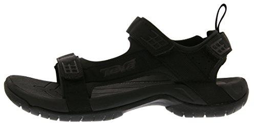 Teva Herren Tanza M's Sport-& Outdoor Sandalen Schwarz (Black/Black 902)