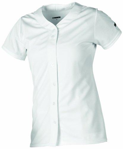 Worth fpxfbj Full Button Damen Jersey, Damen, FPXFBJ, weiß, S -