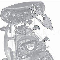 Preisvergleich Produktbild Kit Speziell für Montage der klx1111 / KL1111 / te1111 K ohne die Sockel für den Kofferraum hinten kz1111 Kappa 1111 KIT Honda NC 700S (12 > 13) / NC 750 S (14) Honda NC 700S (12 > 13) / NC 750 S (14) Honda NC 700 X (12 > 13) / NC 750 X (14) Honda NC 700 X (12 > 13) / NC 750 X (14)
