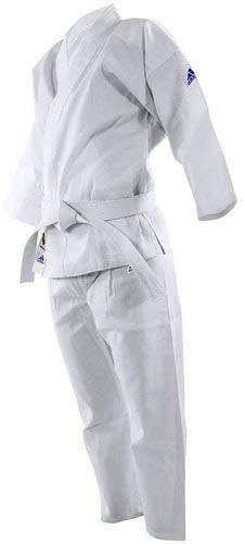 200gramos, material de polialgodón, cintura elástica, etiqueta Adidas tejida en el brazo y en los pantalones, cinturón blanco incluido.