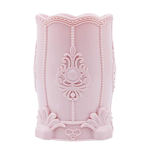 VWH-Feder-Bleistift-Halter-Schreibtisch-Briefpapier Organizer Kosmetik-Aufbewahrungs Cupholder (Pink) (Becherhalter Rosa Bleistift)