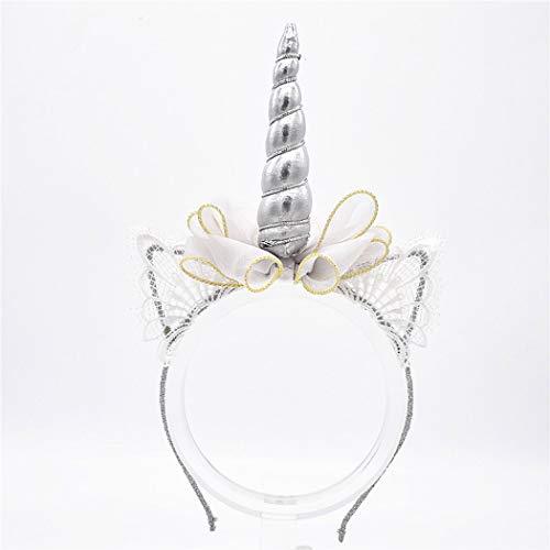 Simply Unicorn Stirnband für Erwachsene, Einhorn, Einhorn, für Mädchen, Party, Cosplay, Kostüm, Party