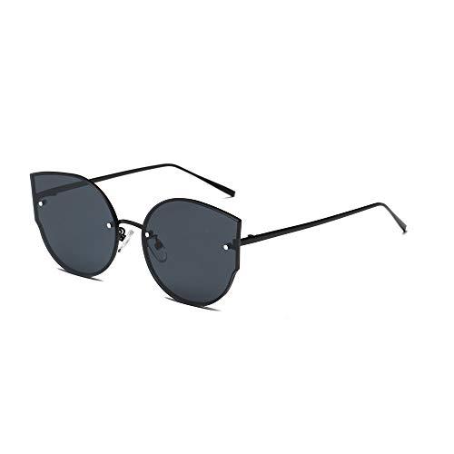 Holeider Sonnenbrille Herren Verspiegelt Polarisiert - Retro Ovale Sonnenbrille UV400 - Unisex Damen und Herren Brille