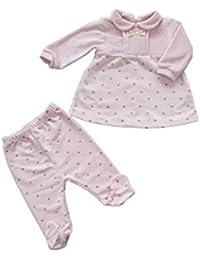 CHIC Completino neonata Invernale in ciniglia Idea corredo, Made in Italy - CP87S