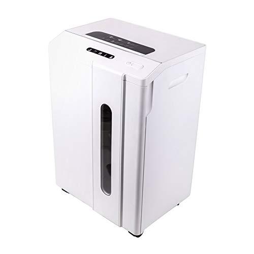 Aktenvernichter elektrisches Papier Aktenvernichter Papier und Kreditkarten Aktenvernichter Office Portable Cross Cut P-7 große Kapazität 1 × 2 mm 7 Vertraulichkeitsstufe