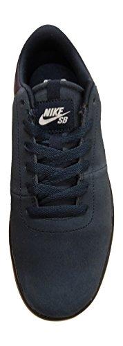 Nike Rabona Lr, Scarpe da Skateboard Uomo Nero / Bianco (Obsidian / White-White)