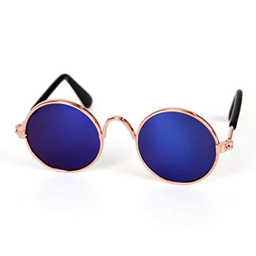 TAOtTAO Haustier Katze Hund Mode Sonnenbrillen UV Sonnenbrille Schutz Tragen (Blau)