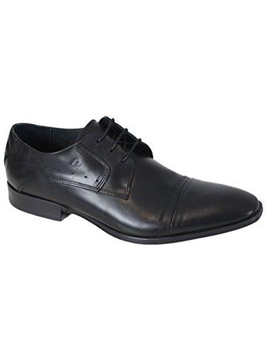 Pierre Cardin Chaussures en Cuir Biro Noir