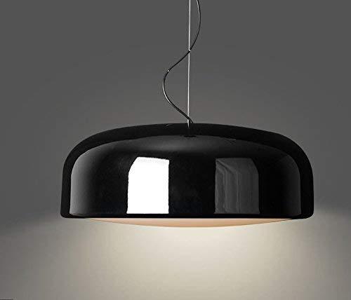 JFFFFWI Einfache kreative Topf Restaurant Restaurant kronleuchter Lampe case Study Room Wohnzimmer Schlafzimmer kronleuchter leuchte kronleuchter, schwarz, in der 480 mm - Case Study-metall