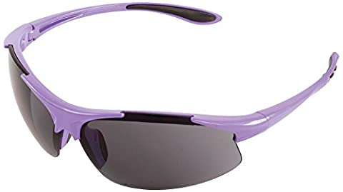 ERB 18625Ella Schutzbrille mit Lila Rahmen und grau Objektiv (12Pack)