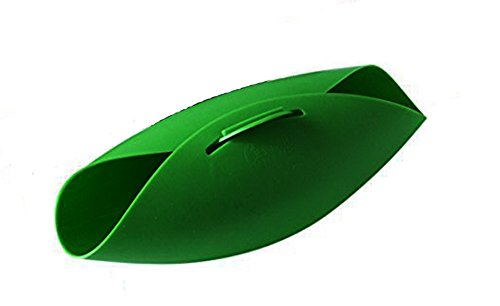 Hanseatic Consumables Flexible Silikon Brotbackform | Salatschale | Silikonschale | Dampfgaren | 24x20x9cm | BPA freies Lebensmittelsilikon | geschmacksneutral | Antihaftbeschichtet