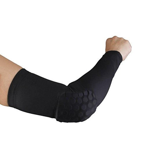 Xcellent Global Basketball Pad Protective Compression Shooter Hand Arm Elbow Sleeve Test