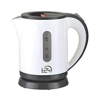 T24-Wasserkocher-08-Liter-kabellos-Automatischer-Abschaltung-Trockenlaufschutz-Leicht-650g-BPA-Frei-1100W