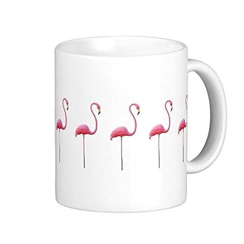 Funny Geschenke für Mama Pink Flamingo Inspirierende Kaffee Tasse Keramik Tasse Tassen für Freunde 313ml beiden Seiten
