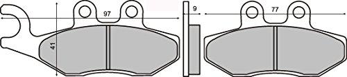 Bremsbeläge Organische vorne X9 Evolution 125 2006-2006