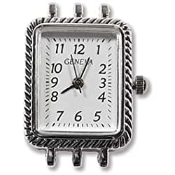 Watch Face with Multi Strand Catches - (WF-3338SP)