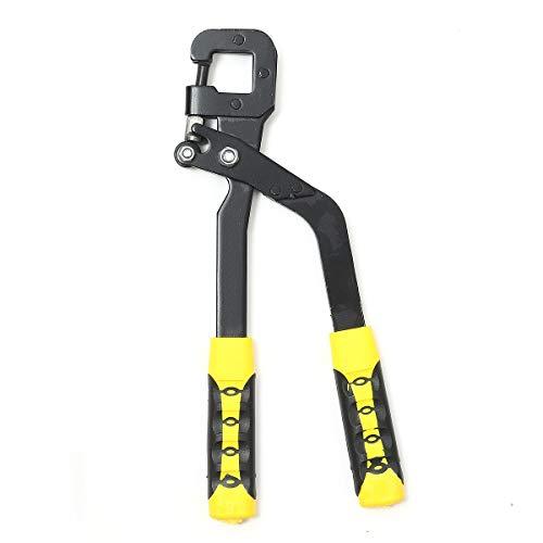Klammer Griff Stud Crimper Zange Kiel Brett Trockenbau Stanzwerkzeug Befestigungsbolzen-Crimper Zange Crimp-Werkzeug