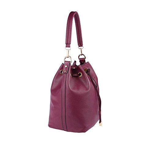 OBC Only-Beautiful-Couture, Borsa a mano donna beige talpa ca.: 40x29x18 cm (BxHxT) Bordeaux