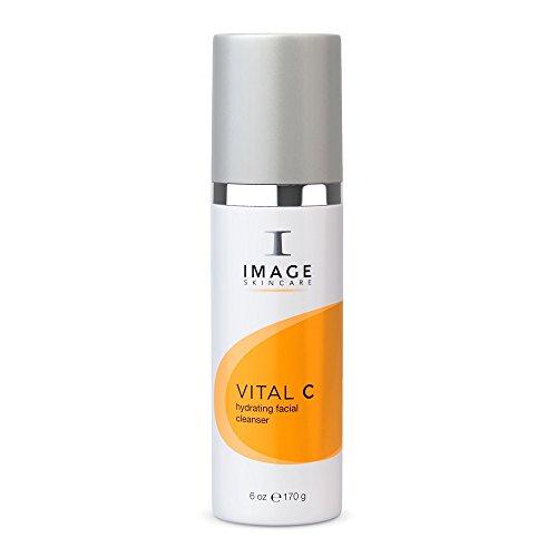 Image SkinCare Vital C Hydrating Facial Cleanser (Image Hautpflege Vital C Feuchtigkeitsspendender Gesichtsreiniger 6.0oz / 177ml | KOSTENLOSE RANDOM SAMPLES GESCHENK | STANDARD-FREIHEIT … (Cleanser Unzen 1)