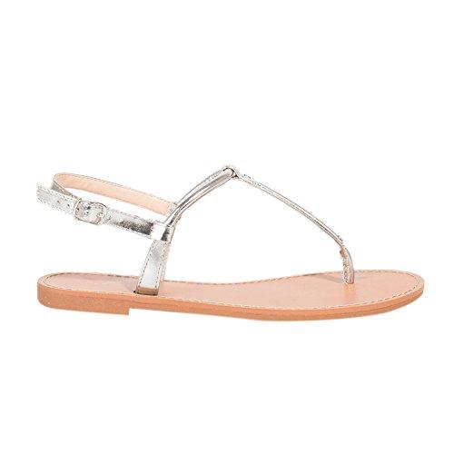 Schuhe Pantoffeln Flacher Absatz Golden - Damen - Größe 40 - Golden Parfois LwMOyy