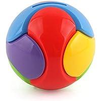 Preisvergleich für SeniorMar Plastic Bricks Hand Greifen Ball DIY Bunte Montiert Puzzle Spielzeug Sparschwein Kinder Baby Kind Frühe Pädagogische Montiert Spielzeug