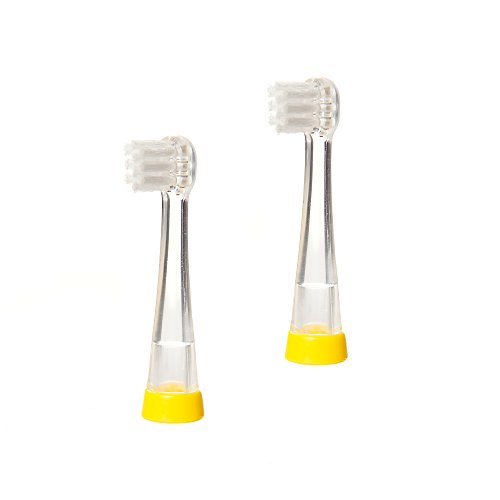 BRUSH-BABY BabySonic Elektrische Ersatz-Zahnbürstenköpfe für 0–18Monate alt