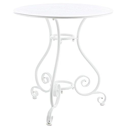 BIZZOTTO Table Etienne Ø70 cm Rond pour intérieur extérieur Jardin Patio ameublement