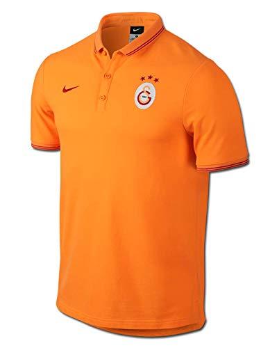 2014-2015 Galatasaray Nike Authentic League Polo Shirt (Orange) 20e91dd20fe